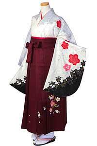白かのこ桜