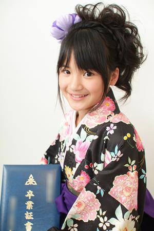 髪型 小学生 式 卒業