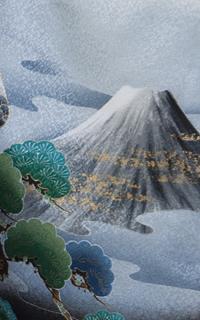 富士山白黒