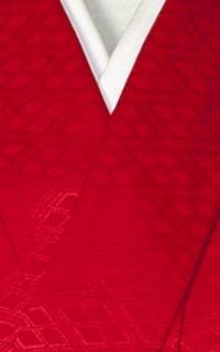 男の紋付(赤)