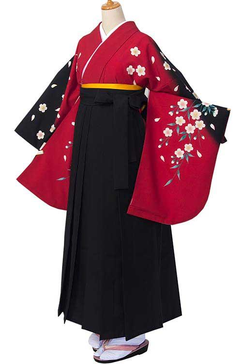 赤黒しだれ桜