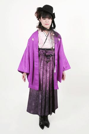 女性の男物袴 1