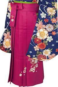 桜蝶ローズ刺しゅう袴