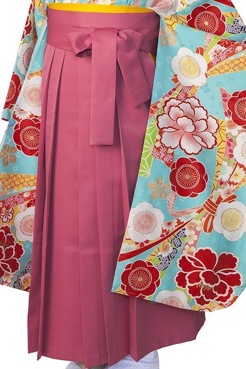 ピンク縦桜袴