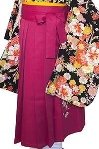 ショッキングP縦桜袴