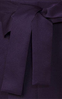 紫縦桜袴Details2
