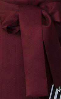 えんじ縦桜袴Details2