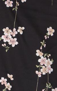 黒桜小紋Details1