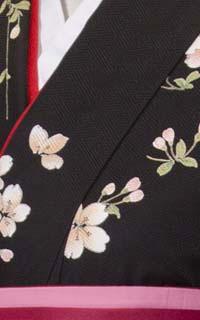 黒桜小紋Details2