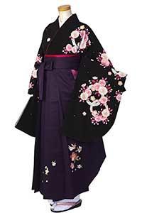 黒桜リング