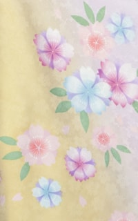 黄すみれ桜Details1
