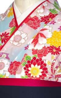 花柄リボン水色Details2