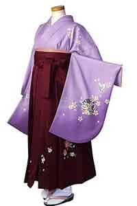 パープル円桜