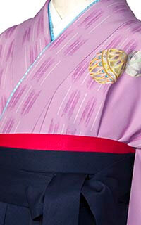 薄紫絹まり