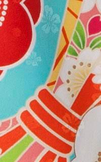 のし花水色Details3