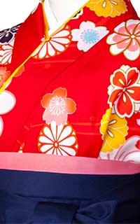 赤大輪桜Details2