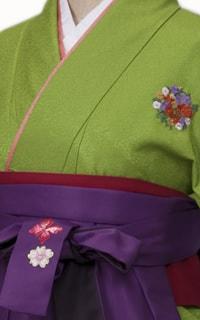 黄緑花紋Details2