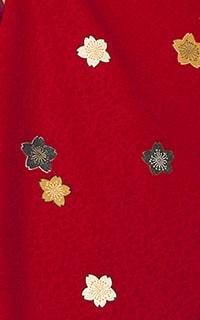 赤桜小紋Details1