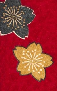 赤桜小紋Details3