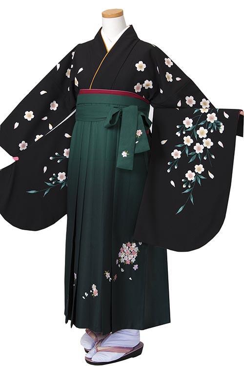 黒しだれ桜
