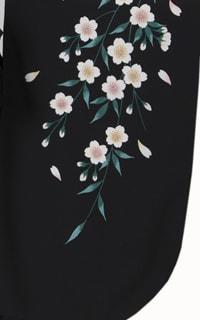 黒しだれ桜Details1
