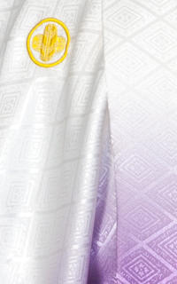 白紫グラデ