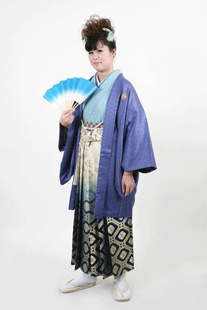 女性の男物袴 3
