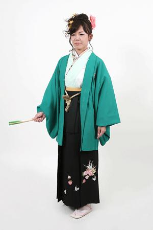 女性の男物袴 4